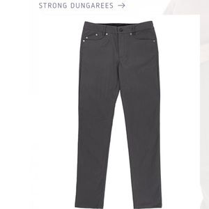 🔥👀Like New||Outlier Phantom Gray Strong Dungaree